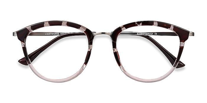 Pink Floral Lightworks -  Plastic, Metal Eyeglasses