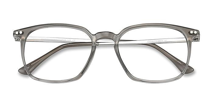 Gray Ghostwriter -  Lightweight Plastic, Metal Eyeglasses