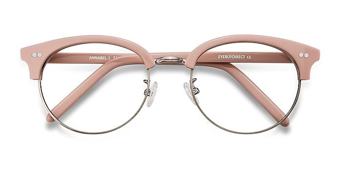 Pink Annabel -  Vintage Acetate, Metal Eyeglasses