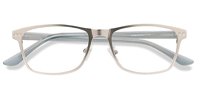 Silver Comity -  Acetate, Metal Eyeglasses
