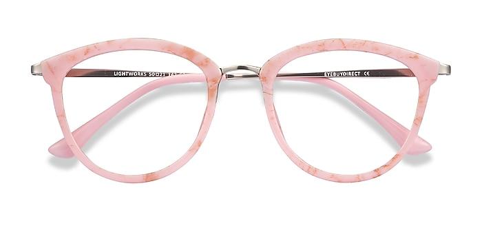 Pink Lightworks -  Colorful Plastic, Metal Eyeglasses