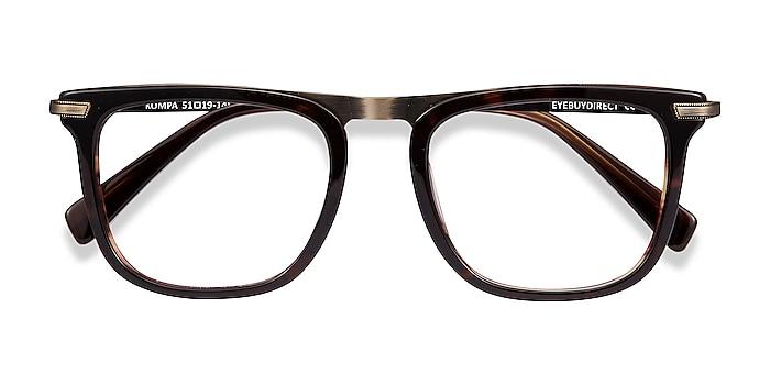Tortoise Kompa -  Acetate, Metal Eyeglasses