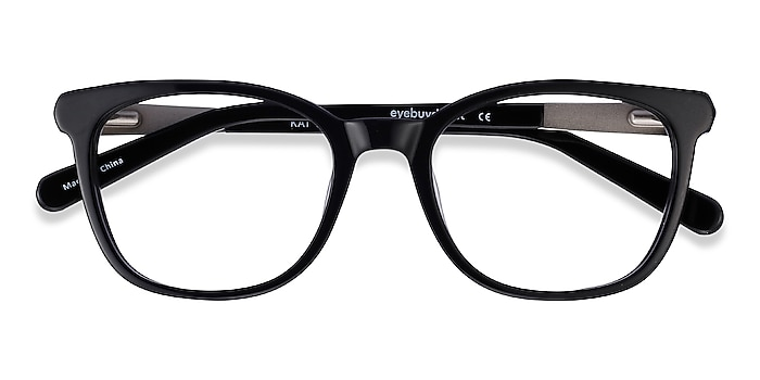 Black Kat -  Acetate, Metal Eyeglasses
