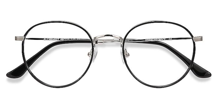 Black Alchemist -  Vintage Acetate, Metal Eyeglasses
