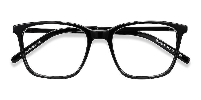 Black Morrow -  Acetate, Metal Eyeglasses