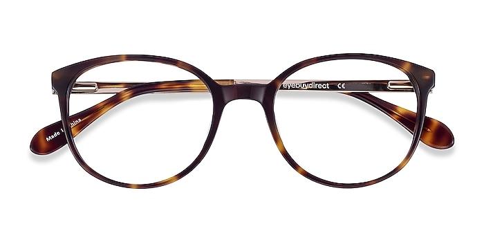 Tortoise Lucy -  Acetate, Metal Eyeglasses