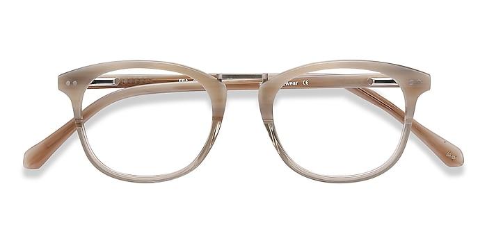 Gray Clear Era -  Acetate, Metal Eyeglasses