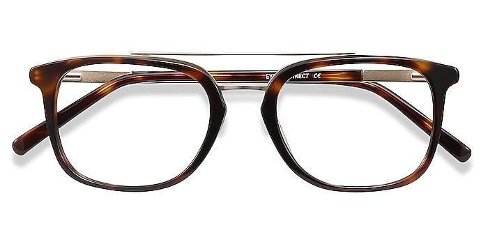 Tortoise Guild -  Acetate, Metal Eyeglasses
