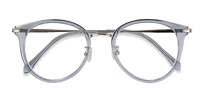Blue Hollie -  Fashion Plastic, Metal Eyeglasses