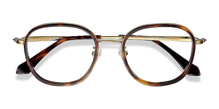 Tortoise Beyond -  Vintage Acetate, Metal Eyeglasses