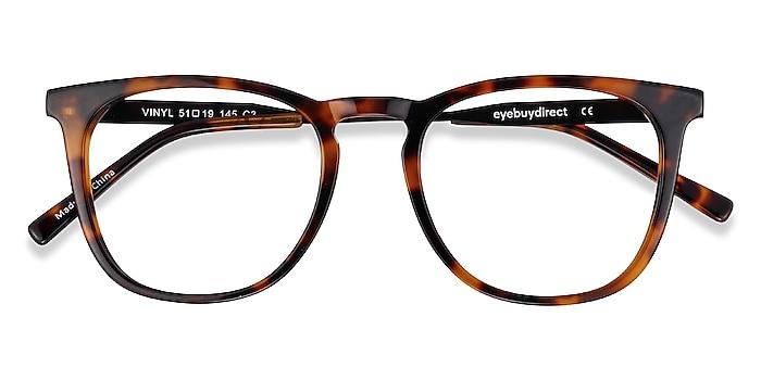 Tortoise Vinyl -  Geek Acetate, Metal Eyeglasses