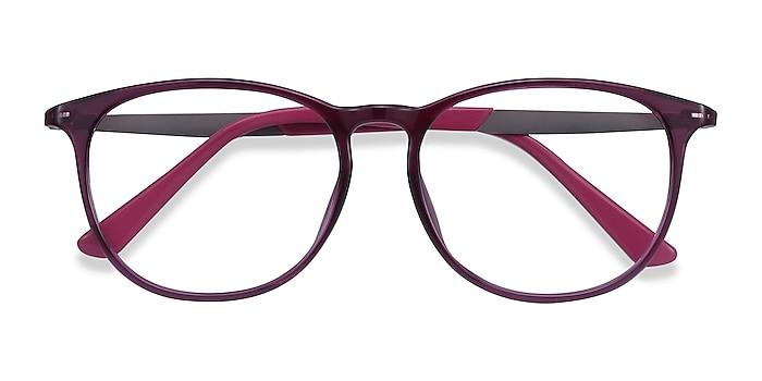 Purple Today -  Lightweight Plastic, Metal Eyeglasses