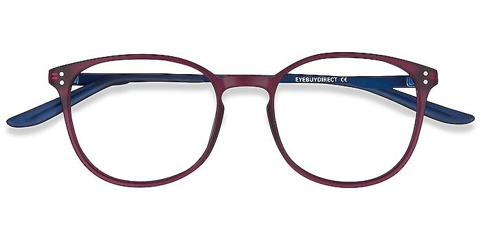 Purple Spoken -  Lightweight Metal Eyeglasses