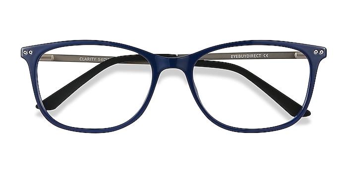 Blue Clarity -  Lightweight Plastic, Metal Eyeglasses