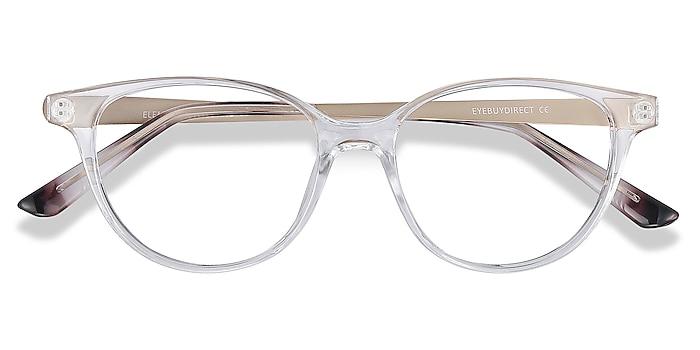 Clear Element -  Vintage Plastic, Metal Eyeglasses