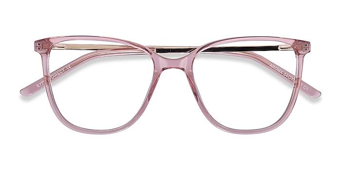 Pink Aroma -  Fashion Acetate, Metal Eyeglasses