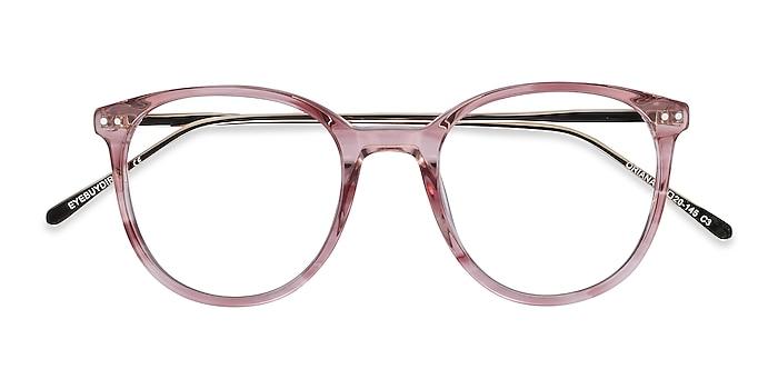 Pink Oriana -  Colorful Acetate, Metal Eyeglasses
