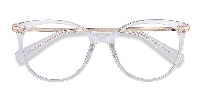 Clear Attitude -  Fashion Acetate, Metal Eyeglasses