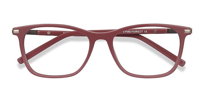 Pink Field -  Colorful Acetate, Metal Eyeglasses