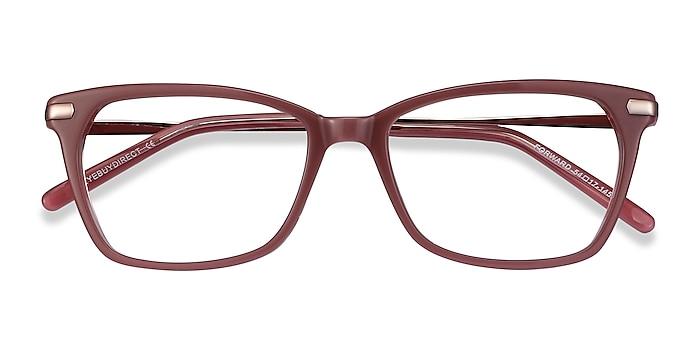 Pink Forward -  Classic Acetate, Metal Eyeglasses