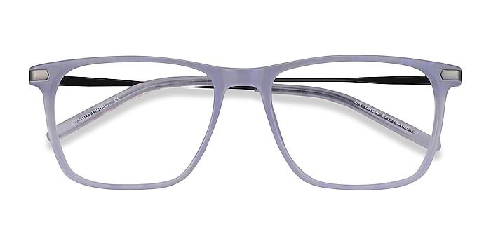 Purple Envision -  Lightweight Acetate, Metal Eyeglasses