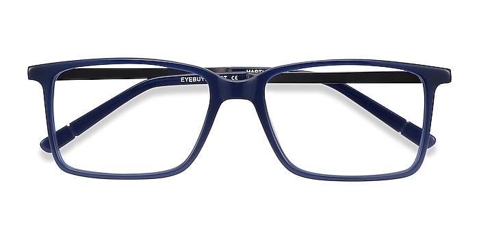 Blue Haptic -  Colorful Acetate, Metal Eyeglasses
