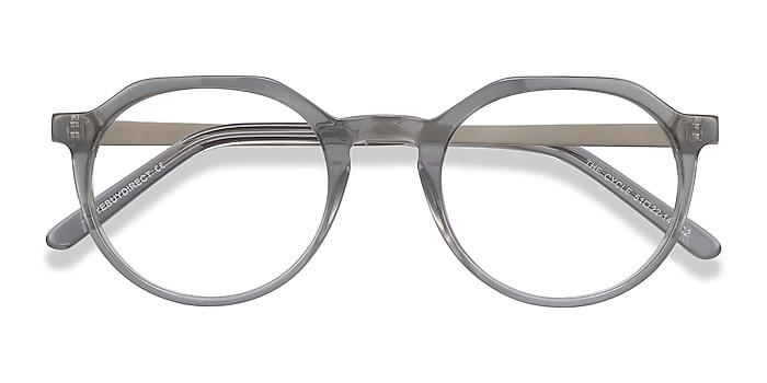 Gray The Cycle -  Fashion Acetate, Metal Eyeglasses