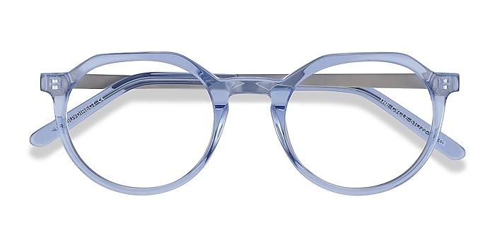 Blue The Cycle -  Fashion Acetate, Metal Eyeglasses