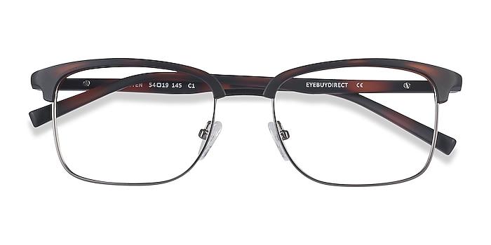 Tortoise Osten -  Lightweight Plastic, Metal Eyeglasses