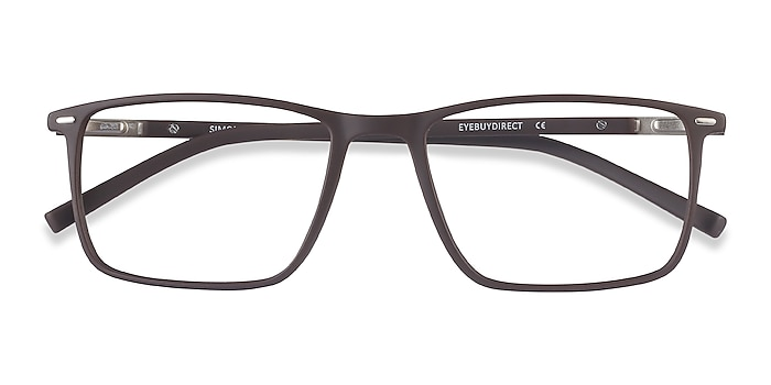 Coffee Simon -  Lightweight Plastic, Metal Eyeglasses