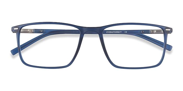 Blue Simon -  Lightweight Plastic, Metal Eyeglasses