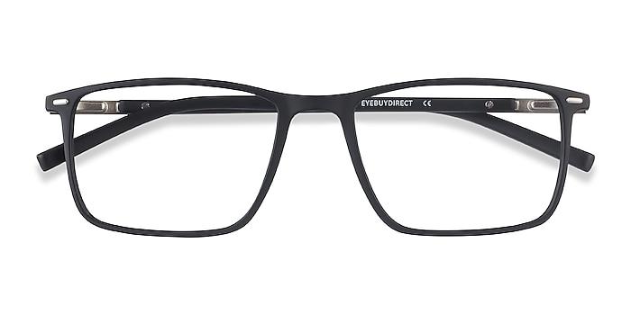 Black Simon -  Lightweight Plastic, Metal Eyeglasses