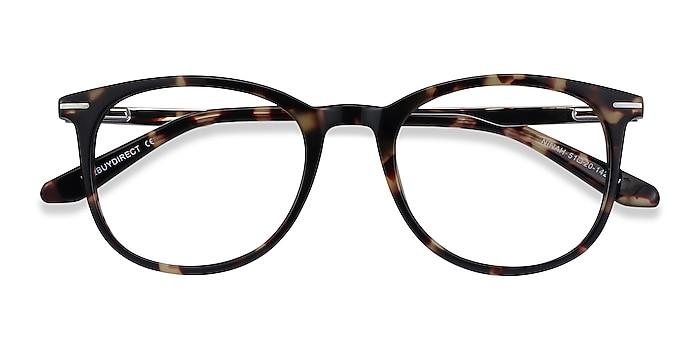 Tortoise Ninah -  Acetate, Metal Eyeglasses