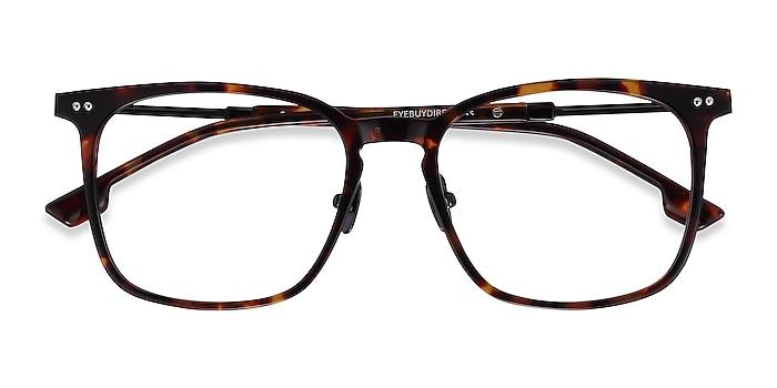 Tortoise Cohen -  Acetate, Metal Eyeglasses