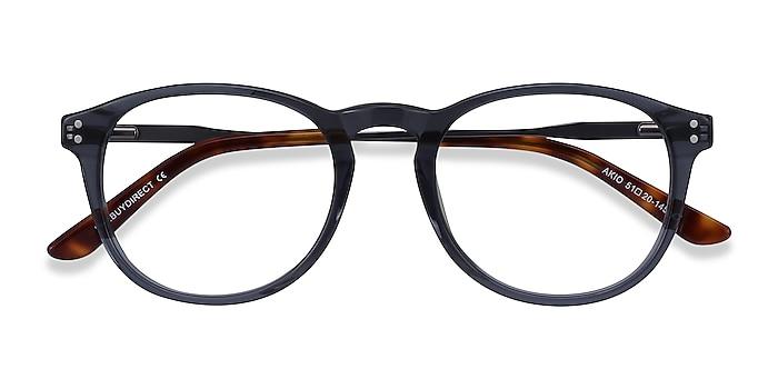 Gray Akio -  Acetate, Metal Eyeglasses