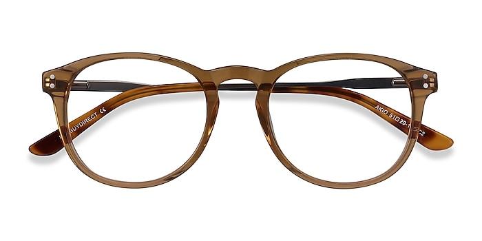 Yellow Akio -  Acetate, Metal Eyeglasses