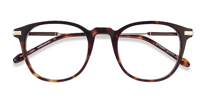 Tortoise Giverny -  Fashion Acetate, Metal Eyeglasses