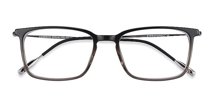 Brown Cameron -  Lightweight Acetate, Metal Eyeglasses