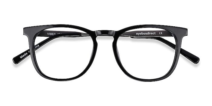 Black Vibes -  Fashion Acetate, Metal Eyeglasses