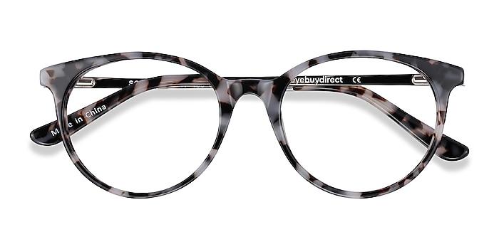 Ivory Tortoise Solver -  Acetate, Metal Eyeglasses