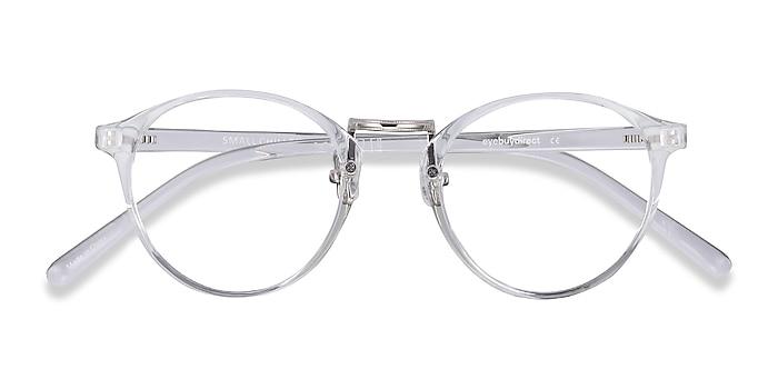 Clear Small Chillax -  Lightweight Plastic, Metal Eyeglasses