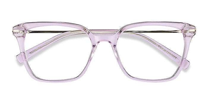 Purple Dearly -  Fashion Acetate, Metal Eyeglasses