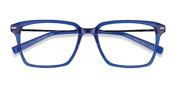 Blue Sense -  Acetate, Metal Eyeglasses