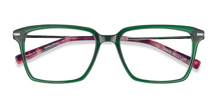 Green Sense -  Lightweight Acetate, Metal Eyeglasses