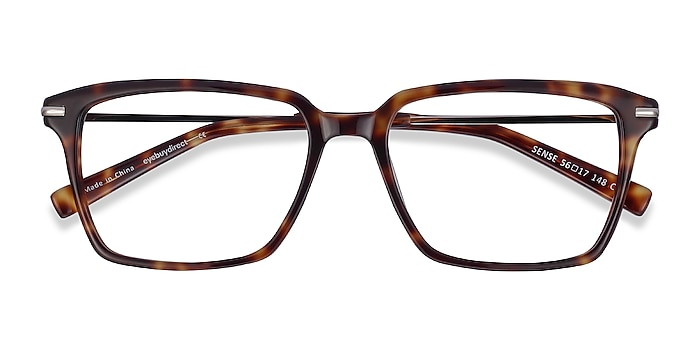 Tortoise Sense -  Acetate, Metal Eyeglasses