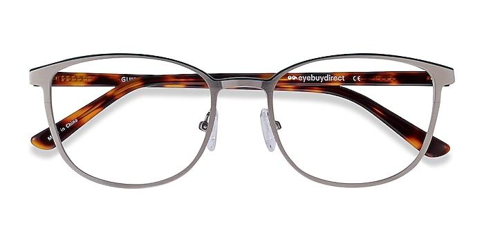 Gunmetal & Tortoise Guide -  Acetate, Metal Eyeglasses