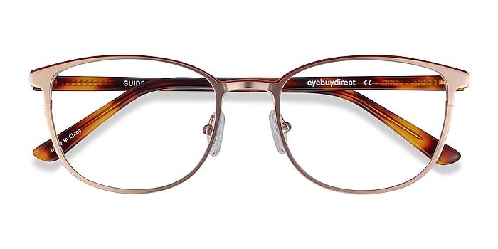 Rose Gold Guide -  Acetate, Metal Eyeglasses