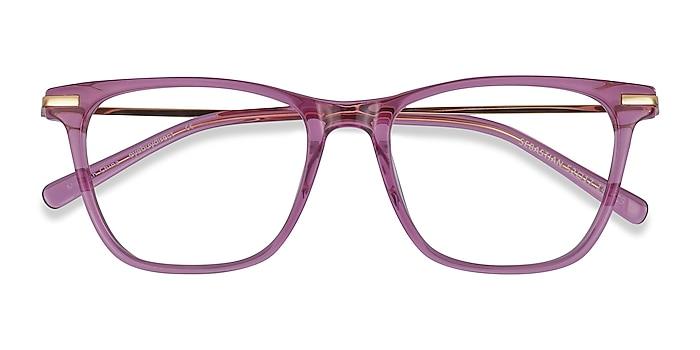 Purple Sebastian -  Fashion Acetate, Metal Eyeglasses