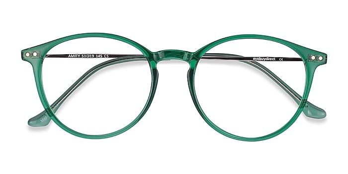 Emerald Green Amity -  Fashion Plastic, Metal Eyeglasses