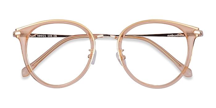 Clear Melon Hollie -  Fashion Plastic, Metal Eyeglasses